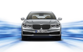 Картинка фон, бмв, BMW, 2015, G12, 740Le