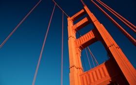 Обои сша, сан франциско, Golden Gate Tower