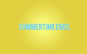 Обои осень, тлен, simmertime ends, лето кончилось