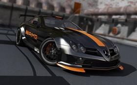 Картинка тюнинг, McLaren, SLR, AMG