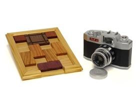 Картинка фон, дерево, фотоаппарат, доска, головоломка, Pax Jr