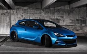 Обои Opel, tuning, New, Astra, GTC