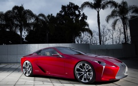 Обои LF-LC, концепт, Concept, лексус, Lexus