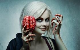 Картинка girl, zombie, blood, undead, New Zealand, woman, pretty