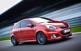 Обои Opel, Corsa, OPC, Nurburgring Edition