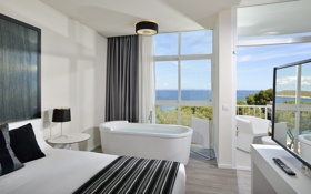 Обои дизайн, стиль, комната, интерьер, балкон