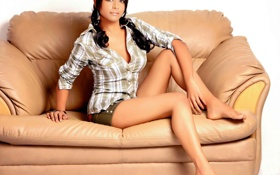 Картинка диван, кожа, Rachana Parulkar