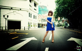 Картинка поза, улица, Pinkiee Hwang