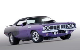 Обои car, muscle, Plymouth
