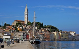 Обои rovinj, istria, croatia, adriatic sea, ровинь, истрия