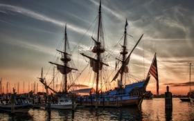 Картинка фото, корабли, Швеция, парусные, Kalmar