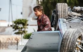 Обои авария, кадр, автомобиль, Том Круз, Tom Cruise, Ethan Hunt, Mission: Impossible - Rogue Nation