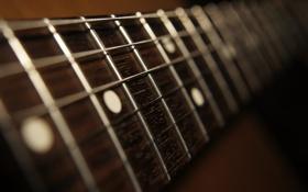 Обои макро, гитара, Diagonal sound