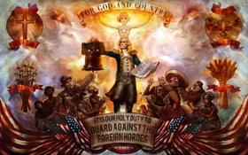 Картинка Bioshock, слоган, Infinite