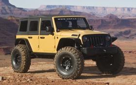 Обои Concept, джип, внедорожник, Wrangler, Jeep, Sand Trooper