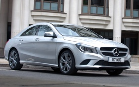 Картинка машина, Mercedes-Benz, седан, мерседес, CLA 180
