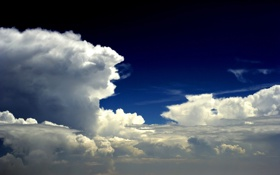 Обои небо, облака, свет