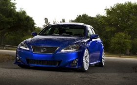 Картинка Lexus, blue, F Sport, IS250