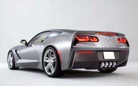 Обои авто, обои, Corvette, Chevrolet, корвет, задок, Stingray