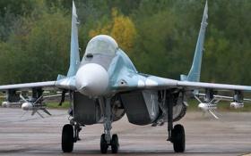 Картинка истребитель, ракеты, МиГ-29А