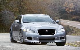 Картинка фары, Jaguar, ягуар, передок, XJR