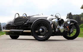 Обои мотор, передок, Morgan, Морган, 3 Wheeler