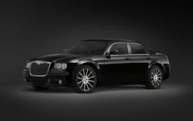 Картинка Авто, Chrysler, черная, 300