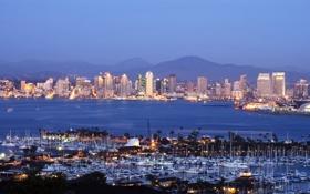 Картинка city, город, USA, California, San Diego