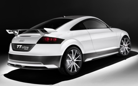 Картинка машина, Concept, Audi, ауди, white, black, ultra quattro