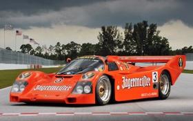 Обои Porsche, спорткар, 962, 1984–91