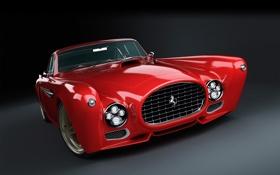 Картинка ferrari, cars, auto, gullwing america, competizione design, f-340