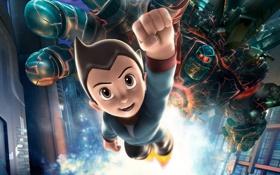 Картинка hero, Astro Boy, Астробой, анимационный мультфильм