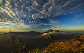Картинка остров, вулкан, Ява, Индонезия, Бромо