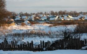 Картинка зима, солнце, снег, деревья, пейзаж, природа, настроение