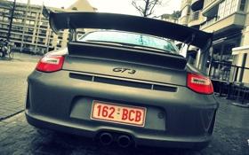 Картинка GT3, задом, Porsche911