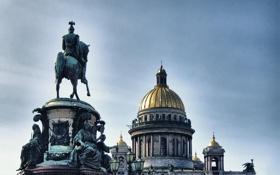 Обои Питер, Санкт-Петербург, Исаакиевский собор, Russia, St. Petersburg