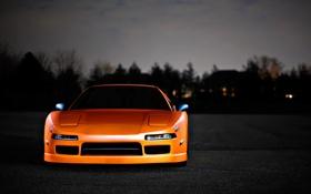 Картинка оранжевая, Honda, хонда, orange, акура, Acura, NSX