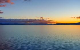 Обои природа, пейзаж, озеро, расвет