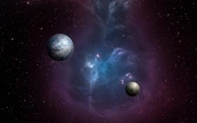 Обои звезды, планеты, миры