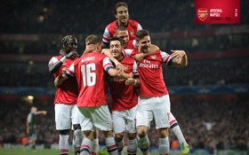 Обои фон, Арсенал, игроки, Arsenal, Football Club, The Gunners, Канониры