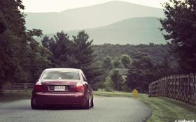 Картинка ауди, тюнинг, stance, Audi A4, canibeat, Marc Davis