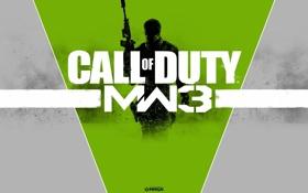 Картинка солдат, call of duty, винтовка, modern warfare 3, game of the year