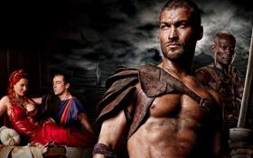 Картинка воин, гладиатор, сериал спартак, spartacus, песок и кровь, МЕЧ