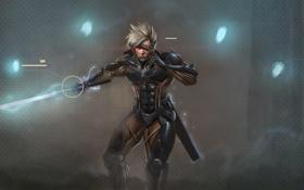 Картинка cyborg, Platinum Games, ninja, mgr, Metal Gear Rising: Revengeance, katana, Raiden