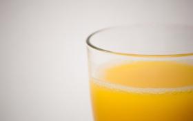 Картинка стакан, жидкость, сок, Orange