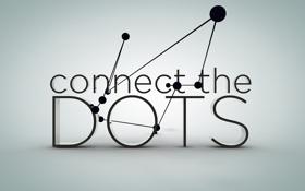 Обои соединение, dots, линии, точки, connection
