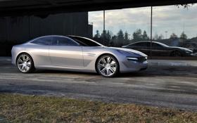 Обои Pininfarina, Concept, пининфарина.камбиано, Cambiano, передок, концепт, отражение