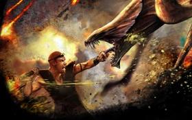Картинка фантастика, монстр, арт, пасть, риддик, Riddick