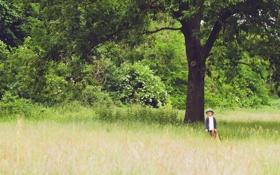 Картинка лето, настроение, малчик