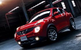 Обои Красный, Машина, Ниссан, Машины, Nissan, Red, Car